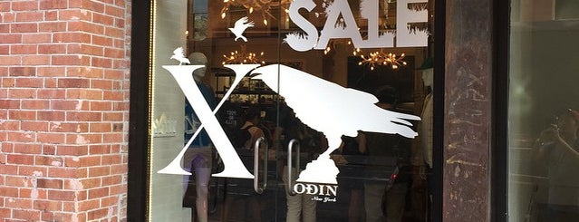 Odin is one of Menswear New York.