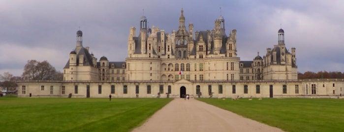 Domaine de Chambord is one of Château de la Loire.