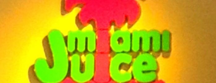 Miami Juice is one of Florida Favorite *Eats & Treats*.