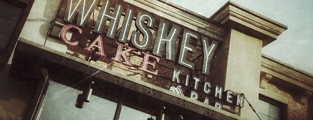 Whiskey Cake Kitchen & Bar is one of Must-Try Dallas Grub.