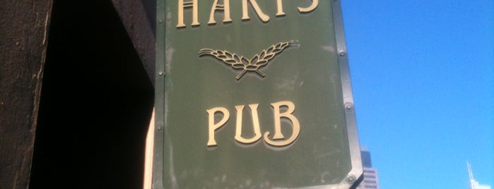 Harts Pub is one of Sydney's Best Pubs.