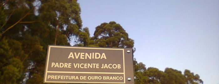 Avenida Padre Vicente Jacob is one of Top 10 favorites places in Ouro Branco.