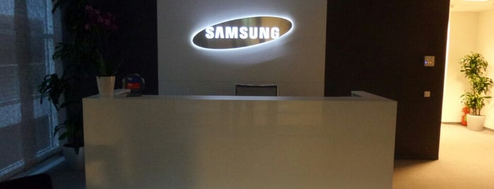 Samsung Electronics Baltics is one of Foursquare LV BrandPages HQ.