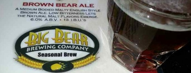 Big Bear Brewing Co. is one of Peewee's Big Ass South Florida Food Adventure!.