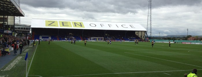 Boundary Park is one of Football grounds visited.