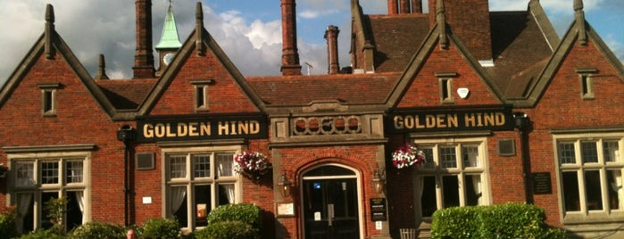 The Golden Hind is one of Must-visit Pubs in Cambridge.