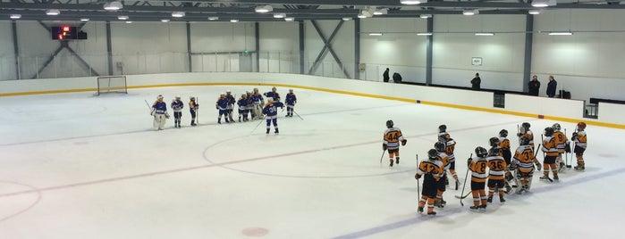 Klaukkalan jäähalli is one of Junior icehockey arenas.