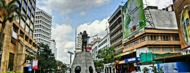 Kimathi Street is one of Visited places.