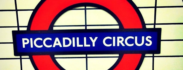 Piccadilly Circus London Underground Station is one of Zone 1 Tube Challenge.