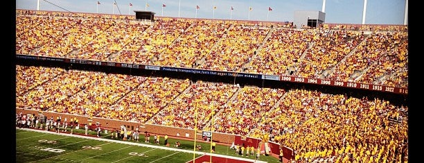 TCF Bank Stadium is one of Big Ten Stadiums.