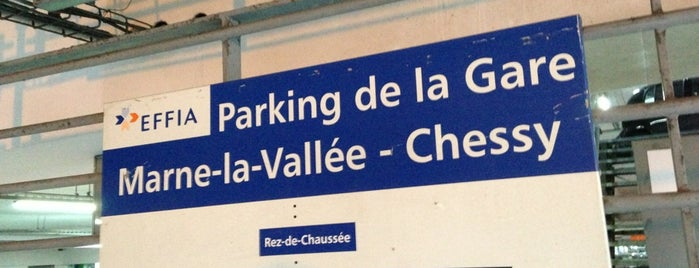 RER Marne-la-Vallée–Chessy – Parcs Disneyland  [A] is one of Paris, FR.