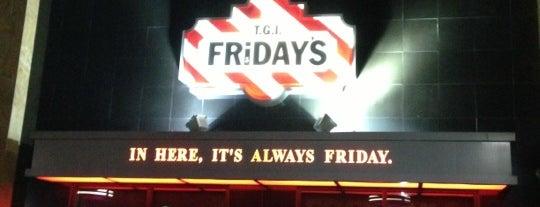 TGI Fridays is one of favorites.
