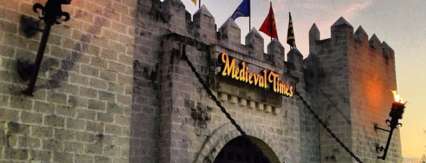 Medieval Times Dinner & Tournament is one of Top 10 restaurants when money is no object.