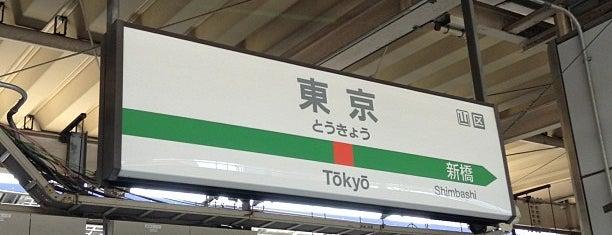 JR 東海道線 東京駅 is one of 2009.03 Kanagawa Tiba Tokyo.