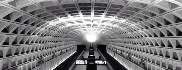 Archives-Navy Memorial Metro Station is one of WMATA Train Stations.