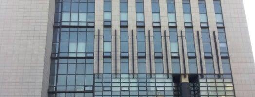 이화여자대학교 국제교육관 (Ewha Womans University International Studies Building) is one of 이화여자대학교 Ewha Womans University.