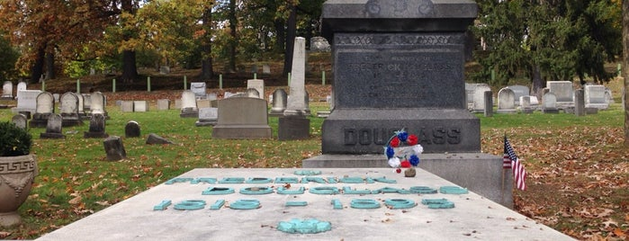 Frederick Douglass Grave is one of RIT Bucket List.