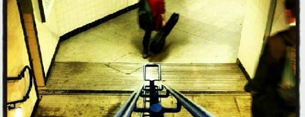 Vauxhall London Underground Station is one of Zone 1 Tube Challenge.