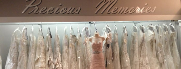 Precious Memories Bridal Shop is one of Potential Vendors.