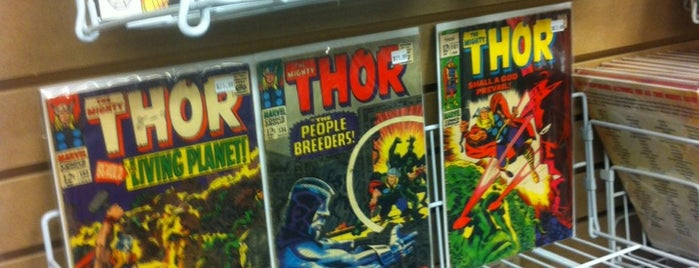 Rock Bottom Comics is one of Shopping in The District.