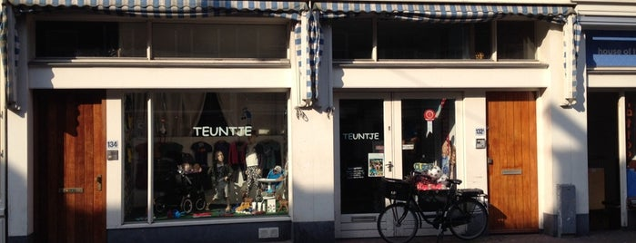 Teuntje is one of Kids Guide. Amsterdam with children 100 spots.