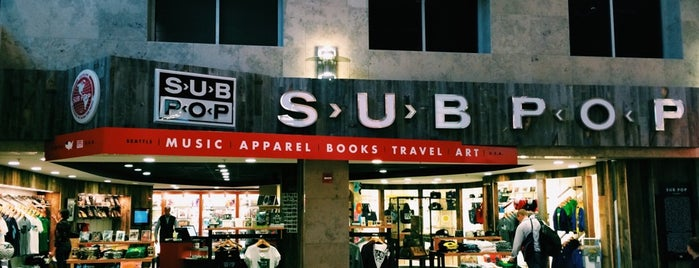 Sub Pop Store is one of Record Stores To Remember.