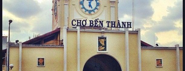 Chợ Bến Thành (Ben Thanh Market) is one of quê hương.