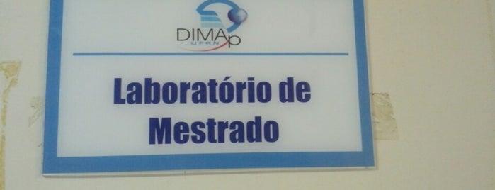 Laboratório de Mestrado (DIMAp) is one of UFRN.