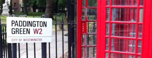 Paddington Green is one of Best Parks In London.