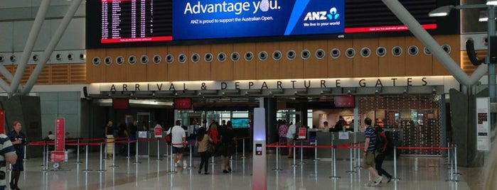 T3 Qantas Domestic Terminal is one of Venues.