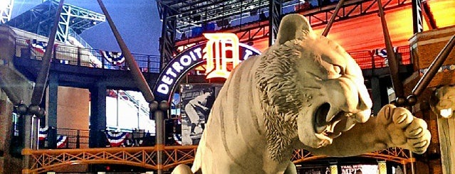 Comerica Park is one of Major League Ballparks.