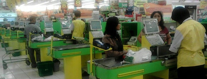 Giant Hypermarket is one of Top 10 favorites places in Surabaya, Indonesia.