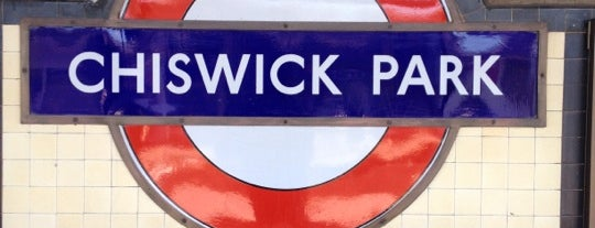 Chiswick Park London Underground Station is one of Tube Challenge.