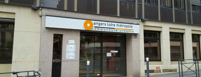 Angers Loire Métropole is one of Angers.
