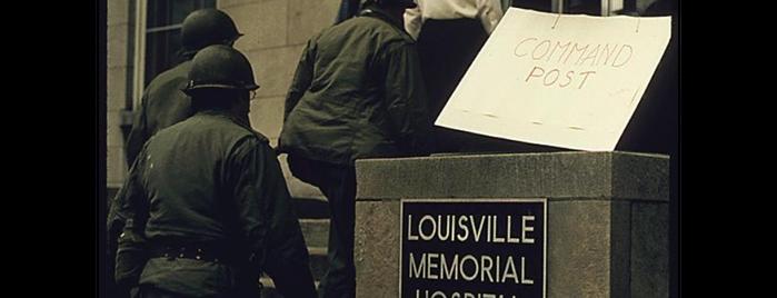 KentuckyOne Health - University of Louisville Hospital is one of Documerica.