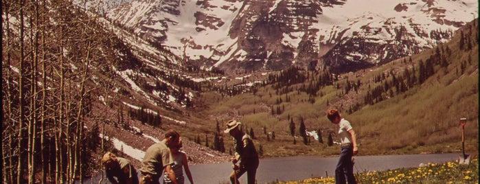 Aspen-Basalt Campground is one of Documerica.