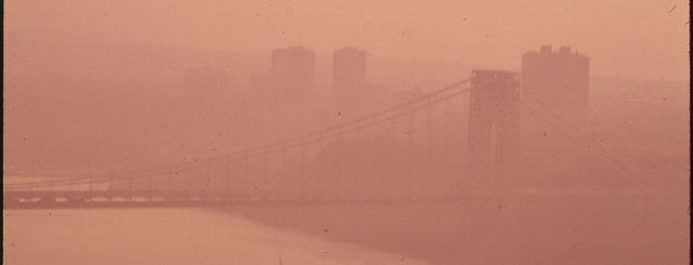 George Washington Bridge is one of Documerica.