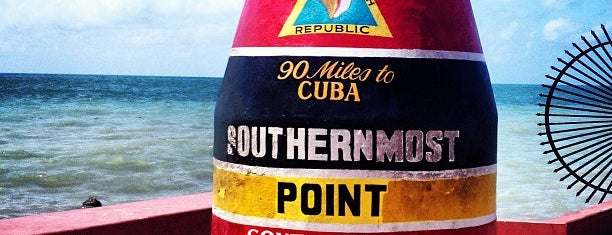 Southernmost Point Buoy is one of things done with the family and doug.