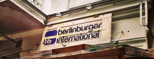 Berlin Burger International is one of My Berlin.