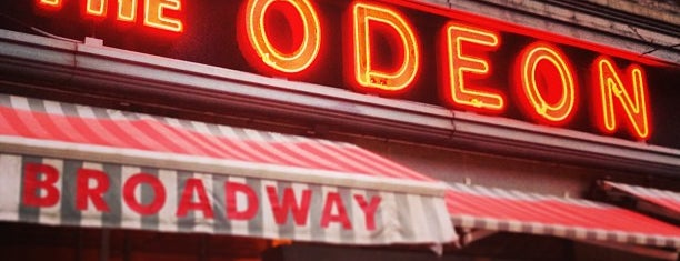 The Odeon is one of NYC Burgers.