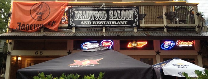Deadwood Saloon is one of Top 10 dinner spots in Atlanta, GA.