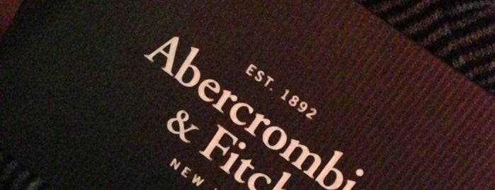 Abercrombie & Fitch is one of Soho spring NY.
