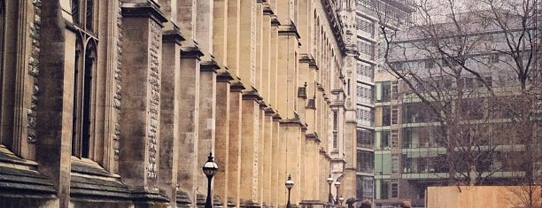 Maughan Library is one of Harry Potter & The Mayor Of Diagon Alley.