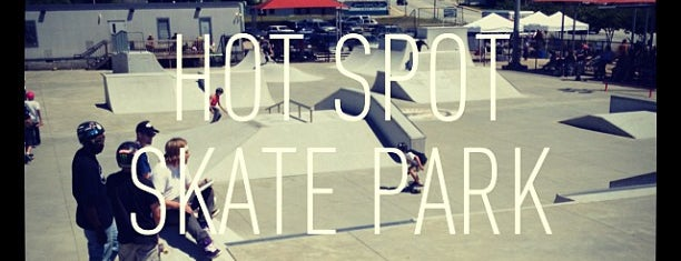 Hot Spot Skate Park is one of Downtown Spartanburg Small Biz.