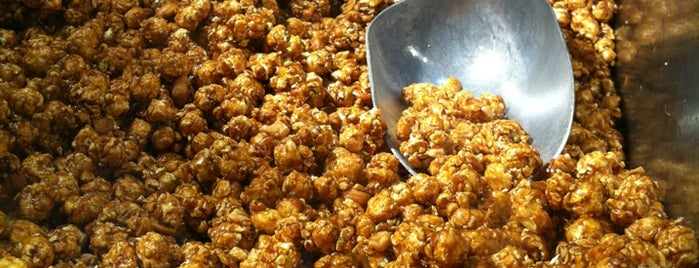 Garrett Popcorn is one of makan sedap.