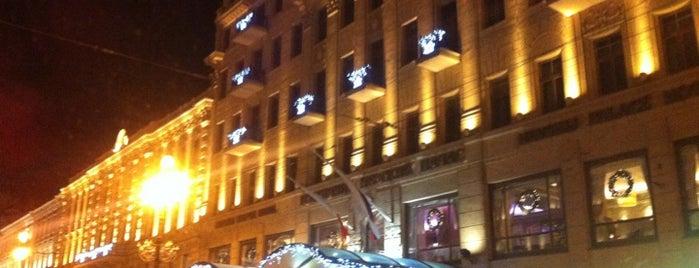 Corinthia Hotel St.Petersburg is one of Основной состав.