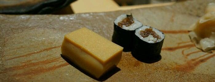 Sushi Saito is one of Michelin Guide Tokyo (ミシュラン東京) 2012 [***&**].