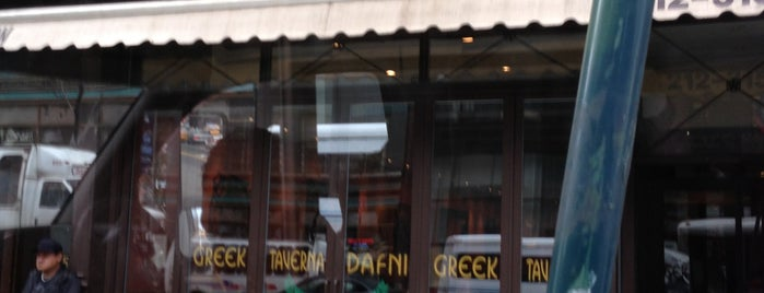 Dafni Greek Taverna is one of Favorite places to take guest in town.