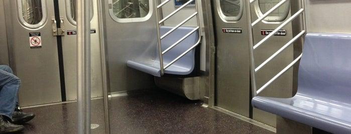 MTA Subway - E Train is one of NY - MTA Subway Trains.