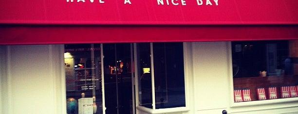 H.A.N.D (Have A Nice Day) is one of BURGER IN PARIS.